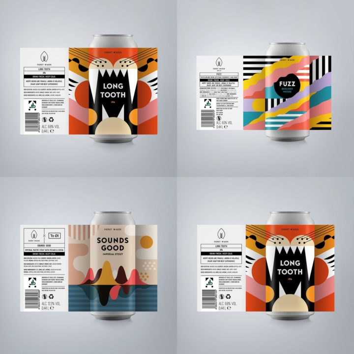 Fuerst Wiacek Mixed Set Craft Beer IPA Berliner Weisse Imperial Stout