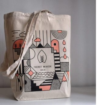 FUERST WIACEK Smooth Moover Tote Bag