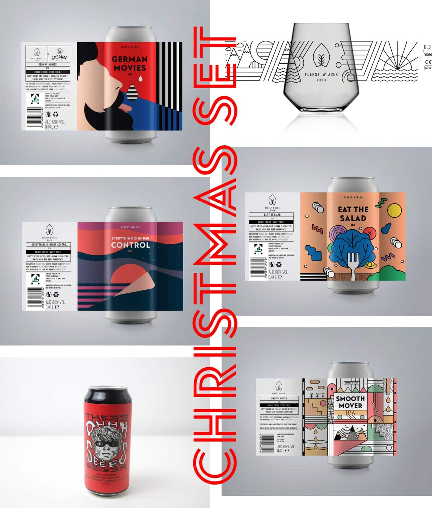 Christmas Craft Beer Set