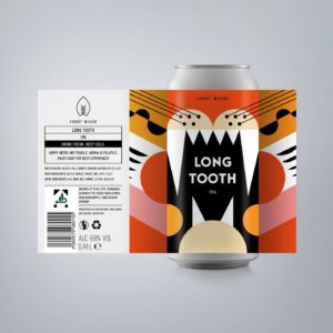 FUERST WIACEK Long Tooth IPA Beer Can