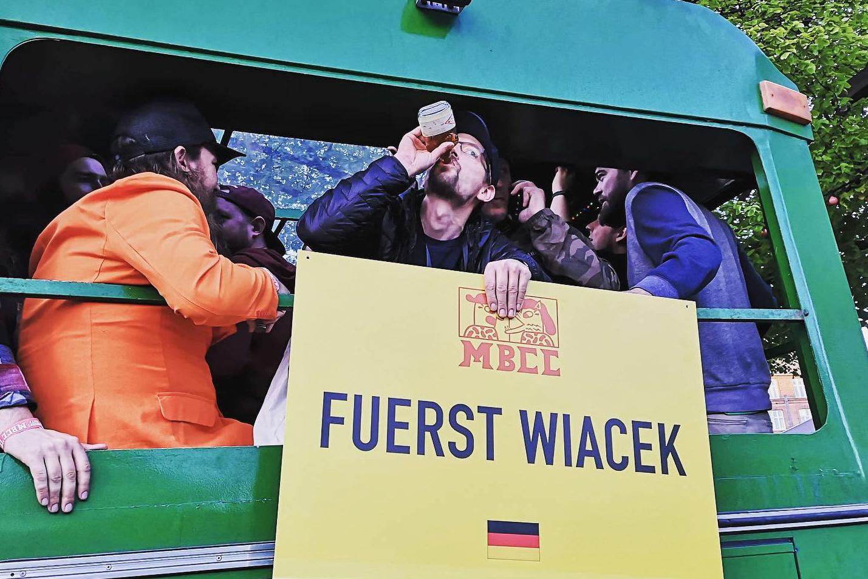 Georg representing FUERST WIACEK at MBCC (Mikkeller Beer Celebration Copenhagen)
