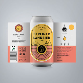 Berliner Landbier - a 5.0 % Helles from FUERST WIACEK, a craft beer brewery in Berlin - Decoction brewed with Select, Tradition & Mittelfrüh