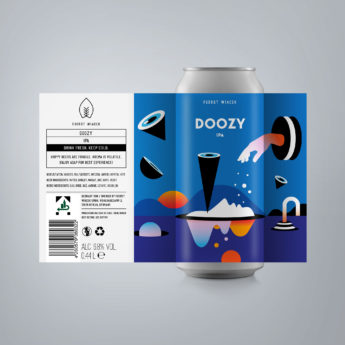 Doozy - a 6.8 % IPA from FUERST WIACEK, a craft beer brewery in Berlin - Dry-hopped with Citra, Mosaic, & El Dorado